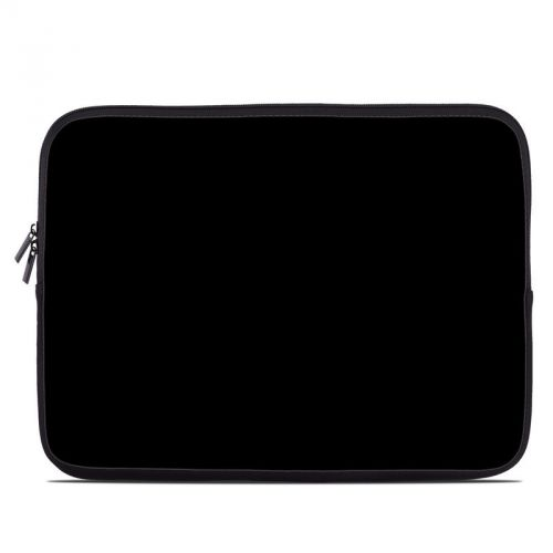 Solid State Black Laptop Sleeve
