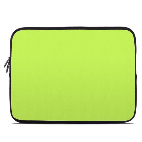 Solid State Lime Laptop Sleeve