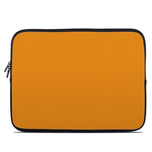 Solid State Orange Laptop Sleeve