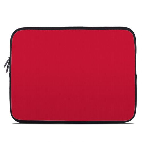 Solid State Red Laptop Sleeve