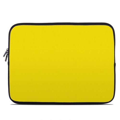 Solid State Yellow Laptop Sleeve