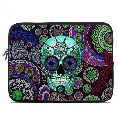 Sugar Skull Sombrero Laptop Sleeve