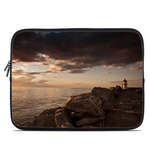 Sunset Beacon Laptop Sleeve