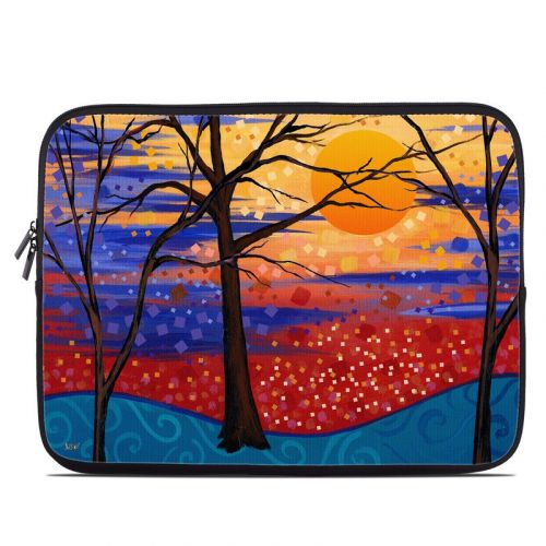Sunset Moon Laptop Sleeve