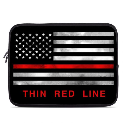 Thin Red Line Laptop Sleeve