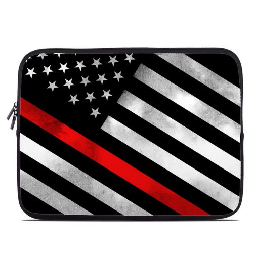 Thin Red Line Hero Laptop Sleeve