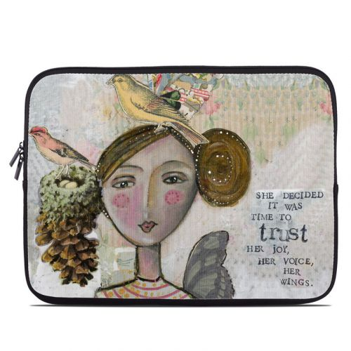 Time To Trust Laptop Sleeve