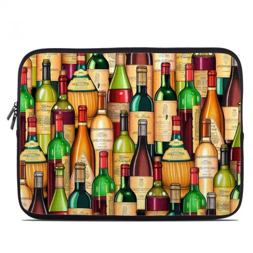Time For Wine Laptop Sleeve