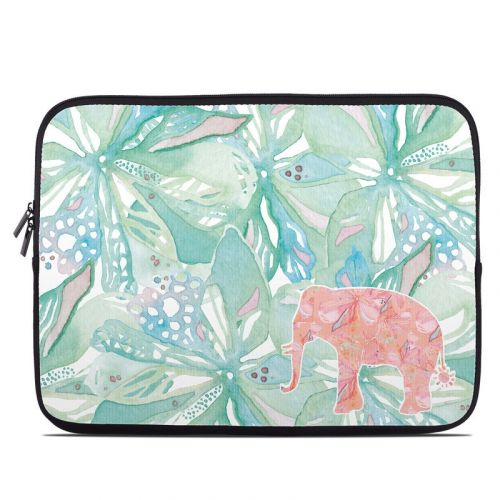 Tropical Elephant Laptop Sleeve