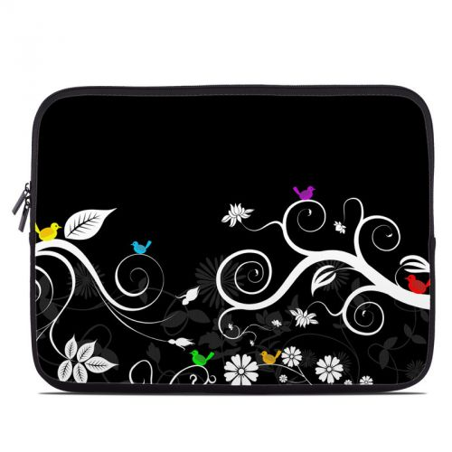 Tweet Dark Laptop Sleeve