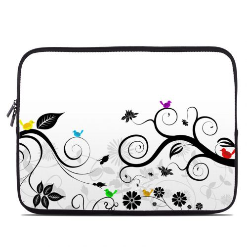 Tweet Light Laptop Sleeve