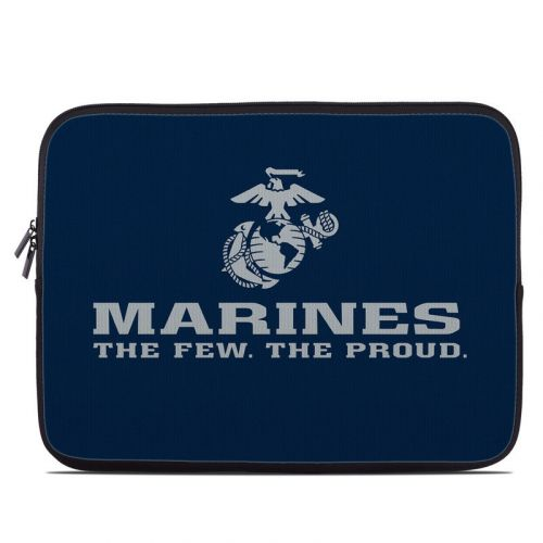 USMC Blue Laptop Sleeve