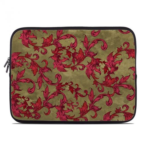 Vintage Scarlet Laptop Sleeve