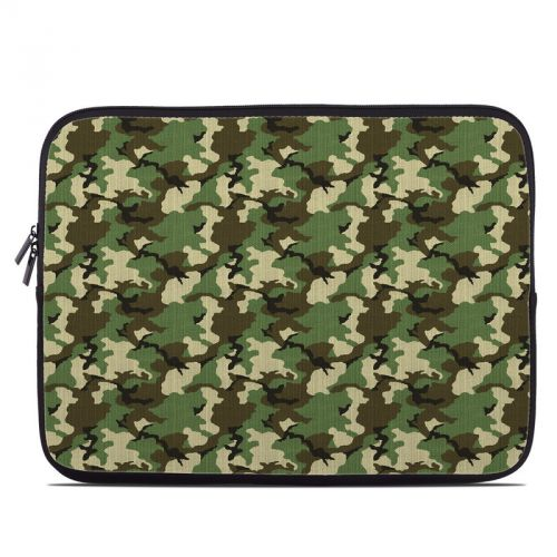 Woodland Camo Laptop Sleeve