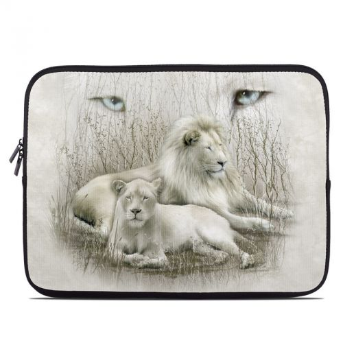 White Lion Laptop Sleeve