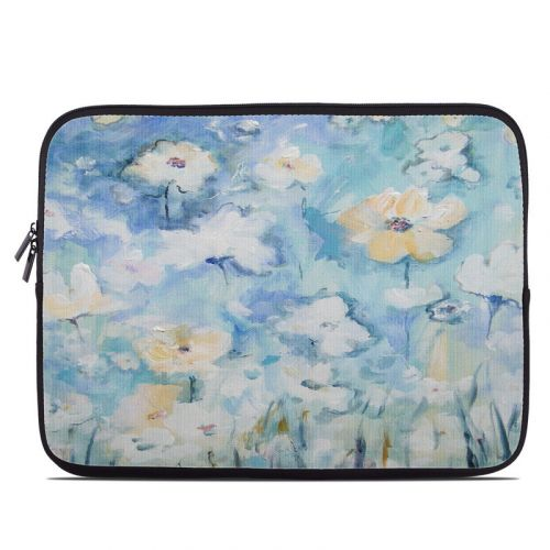 White & Blue Laptop Sleeve