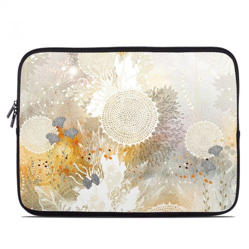White Velvet Laptop Sleeve
