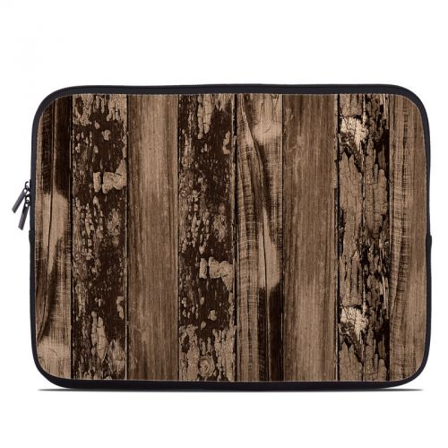 Weathered Wood Laptop Sleeve