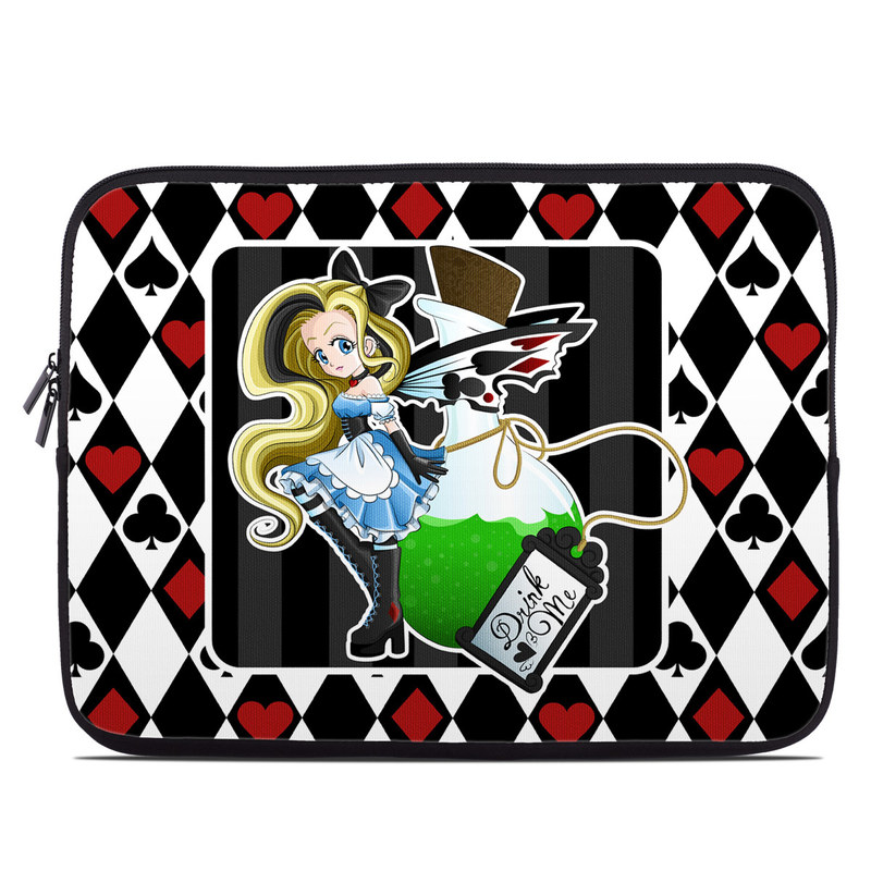 Laptop Sleeve design of Cartoon, Illustration, Games, Fictional character, Clip art, Graphics, Art with black, white, red, blue, green, yellow colors