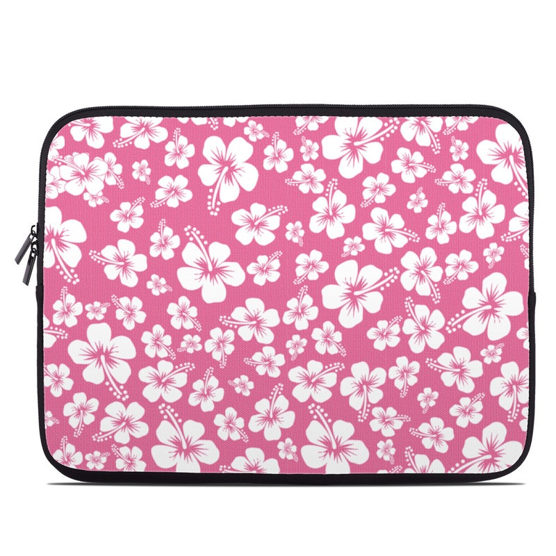 Laptop Sleeve design of Pink, Pattern, Flower, Petal, Plant, Design, Floral design, Pedicel, Cherry blossom, Blossom with pink, white colors