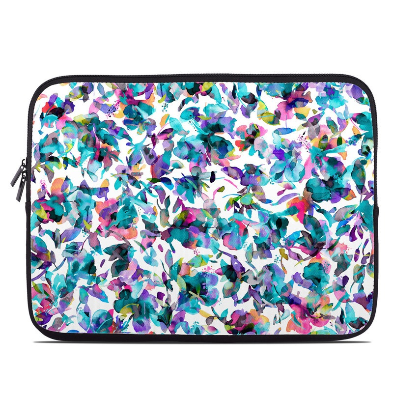 Laptop Sleeve design of Pattern, Design, Textile with white, blue, red, purple, pink, orange, yellow colors