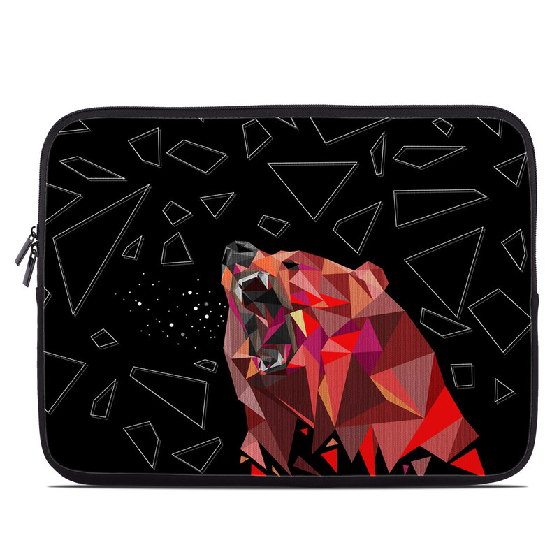 Laptop Sleeve design of Graphic design, Triangle, Font, Illustration, Design, Art, Visual arts, Graphics, Pattern, Space with black, red colors