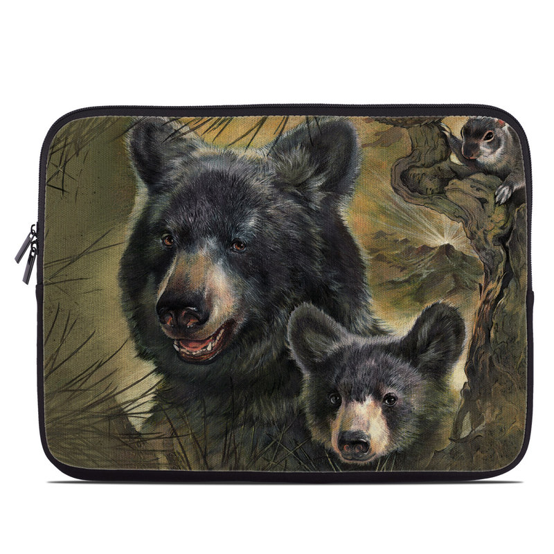 Black Bears Laptop Sleeve