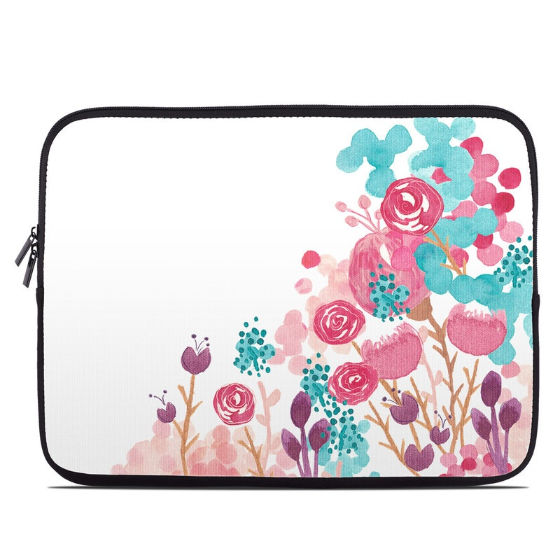 Blush Blossoms Laptop Sleeve