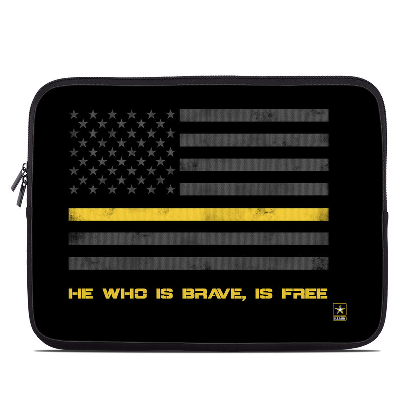 Laptop Sleeve design of Text, Yellow, Font, Line, Parallel, Graphic design, Logo, Graphics with black, gray, yellow, orange colors