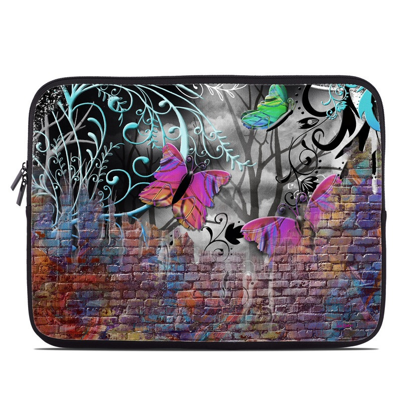 Butterfly Wall Laptop Sleeve