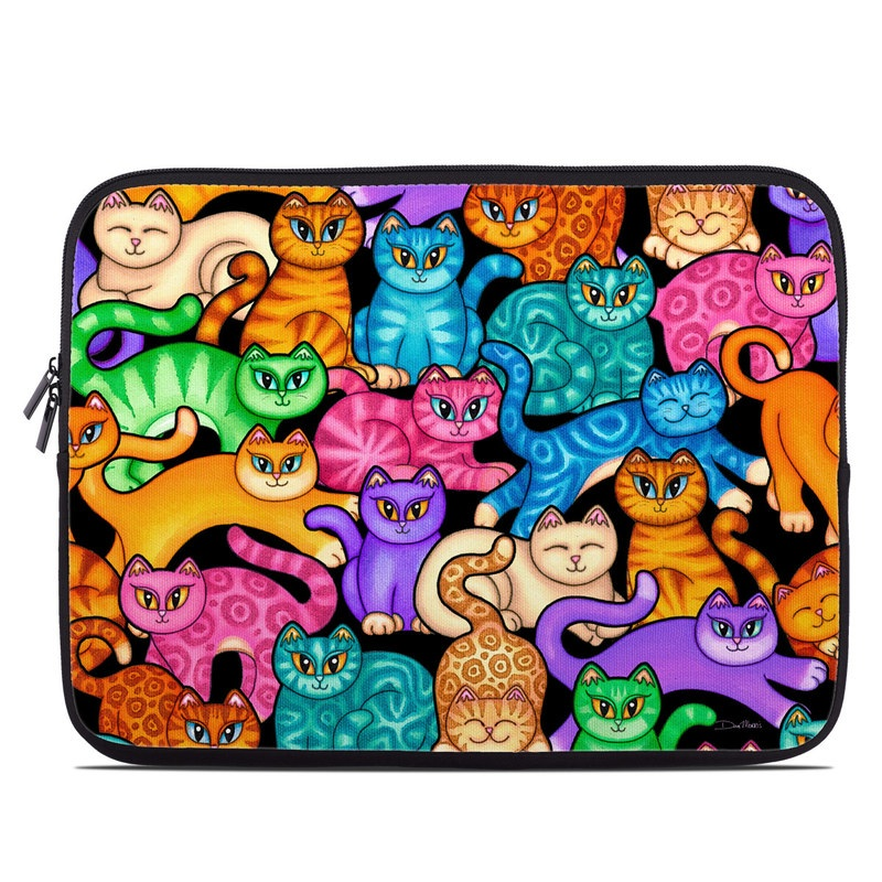 Colorful Kittens Laptop Sleeve
