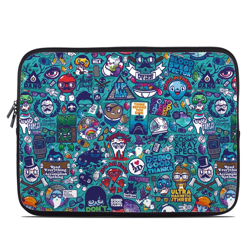 Cosmic Ray Laptop Sleeve