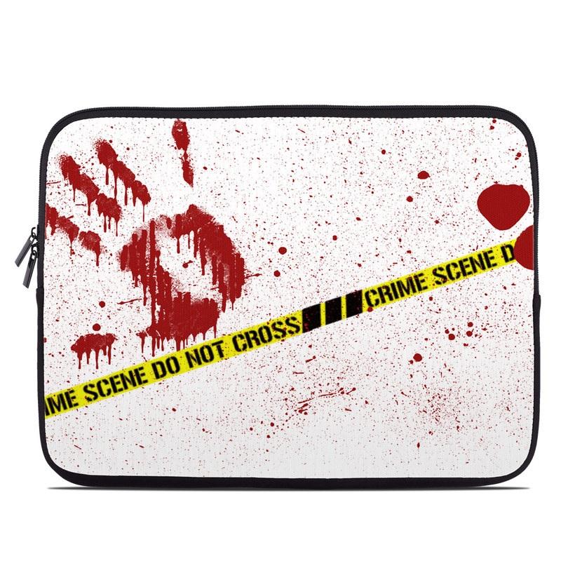 Crime Scene Revisited Laptop Sleeve