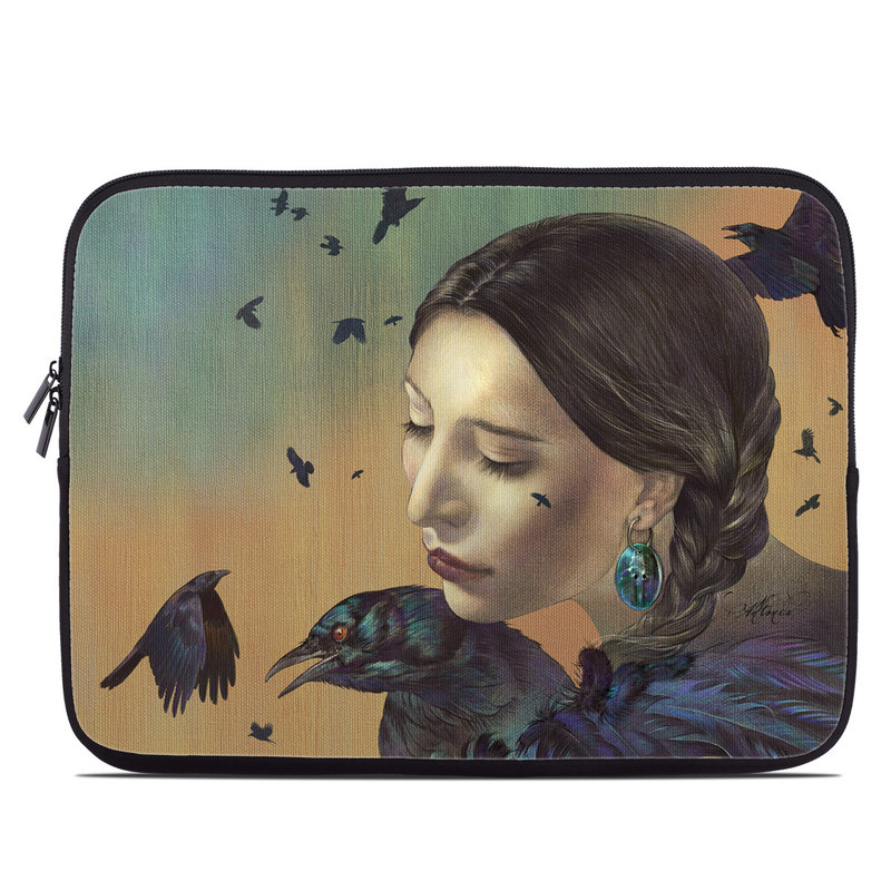 Crow Maiden Laptop Sleeve
