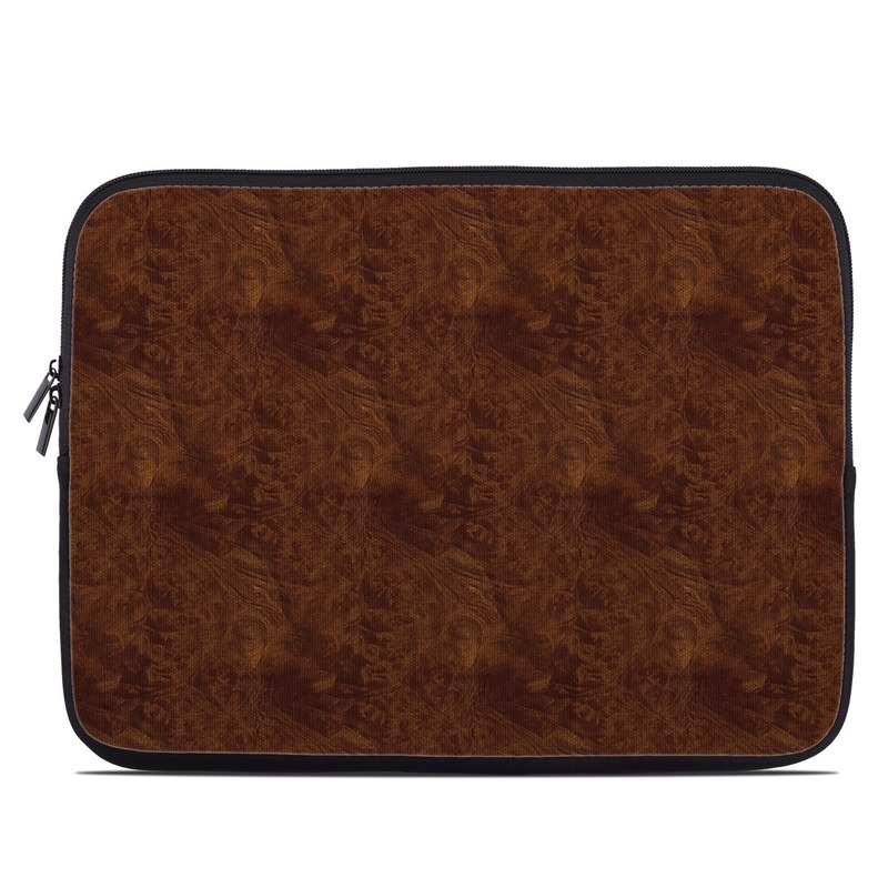 Dark Burlwood Laptop Sleeve