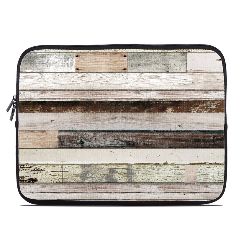 Eclectic Wood Laptop Sleeve