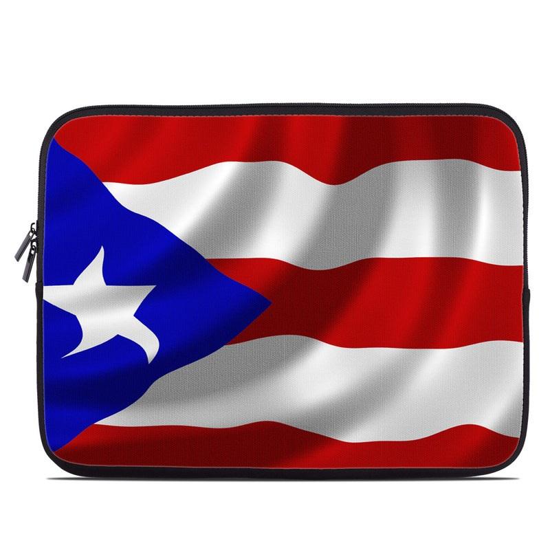 Puerto Rican Flag Laptop Sleeve