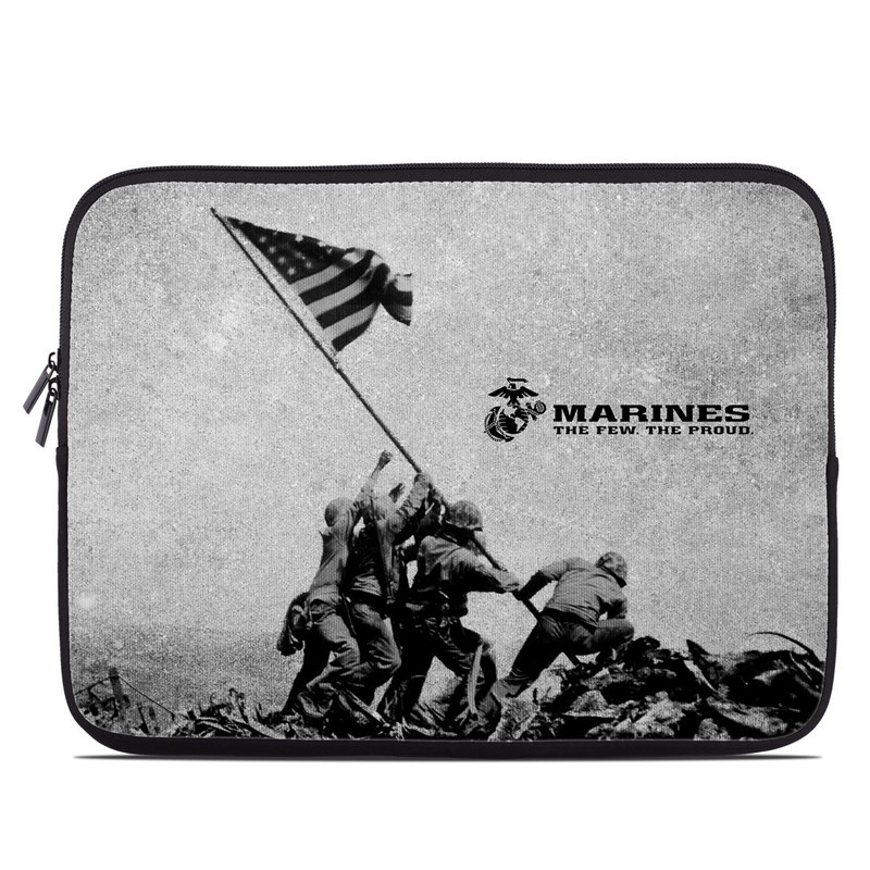 Laptop Sleeve design of Flag, Illustration, Stock photography, Pole with gray, black colors