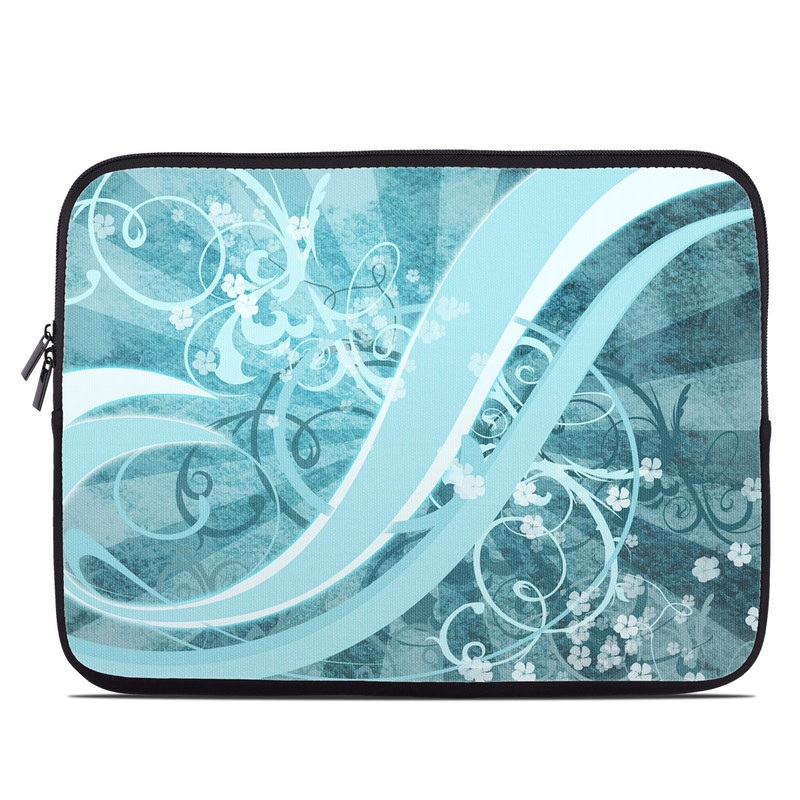 Flores Agua Laptop Sleeve