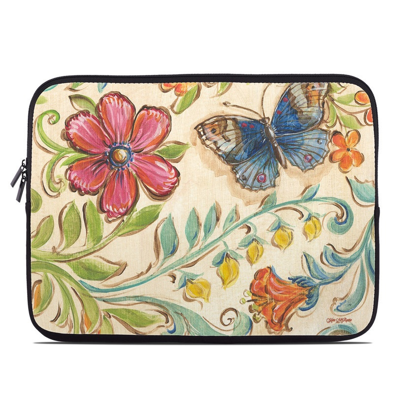 Garden Scroll Laptop Sleeve