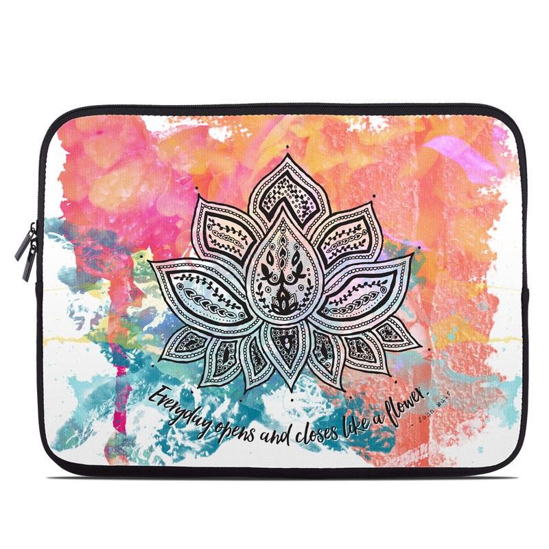 Happy Lotus Laptop Sleeve