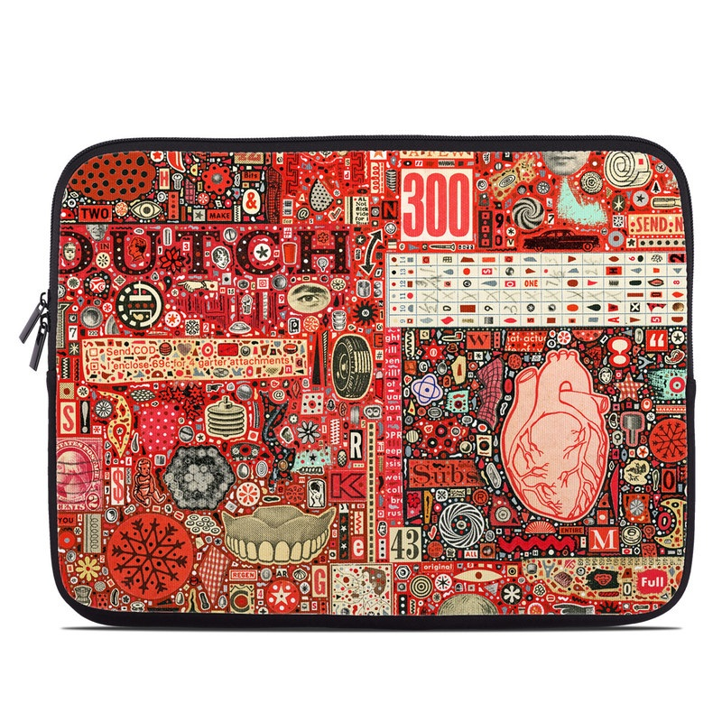 Heart and Teeth Laptop Sleeve