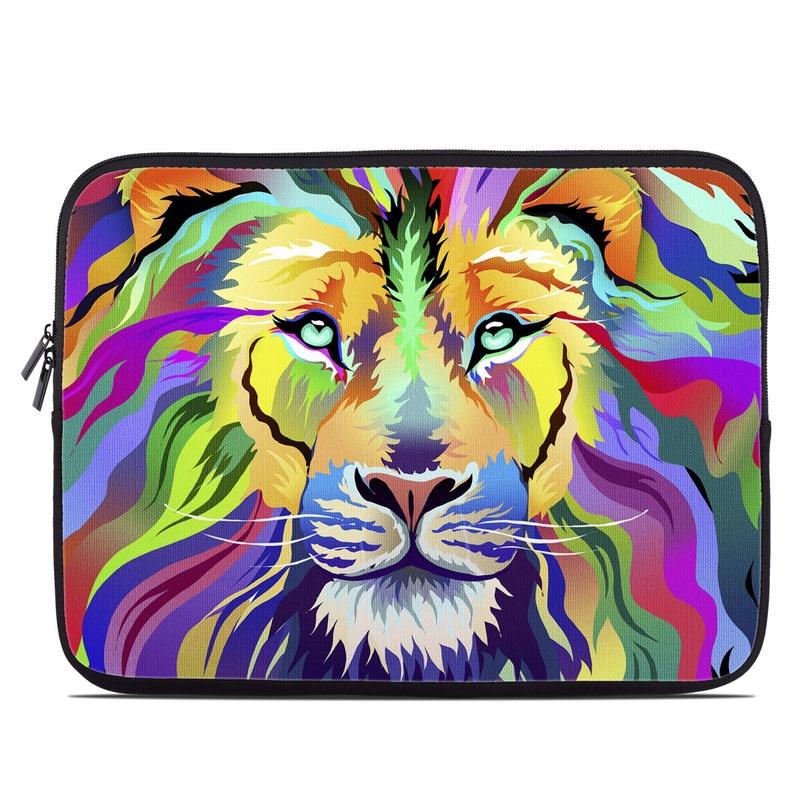 King of Technicolor Laptop Sleeve