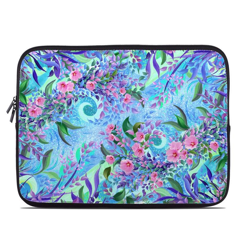Lavender Flowers Laptop Sleeve