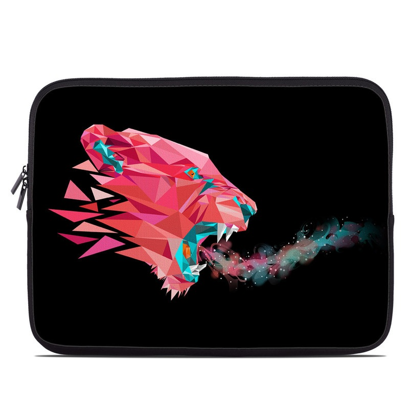 Laptop Sleeve design of Pink, Graphic design, Illustration, Design, Organism, Graphics, Font, Art, Animation, Pattern with black, red, pink, gray colors