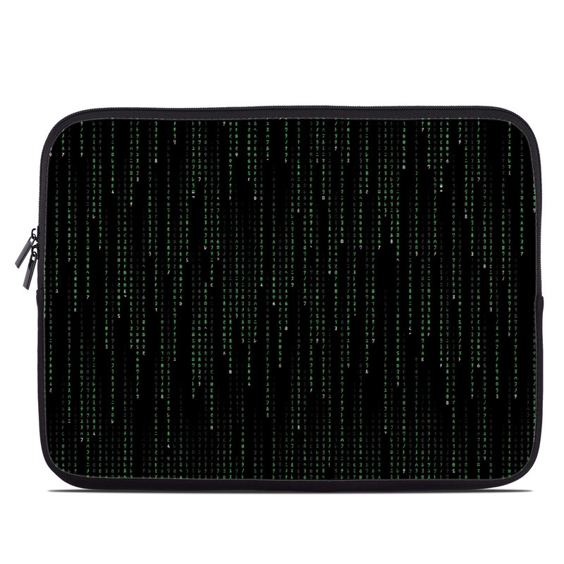 Matrix Style Code Laptop Sleeve