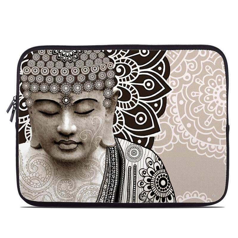 Meditation Mehndi Laptop Sleeve