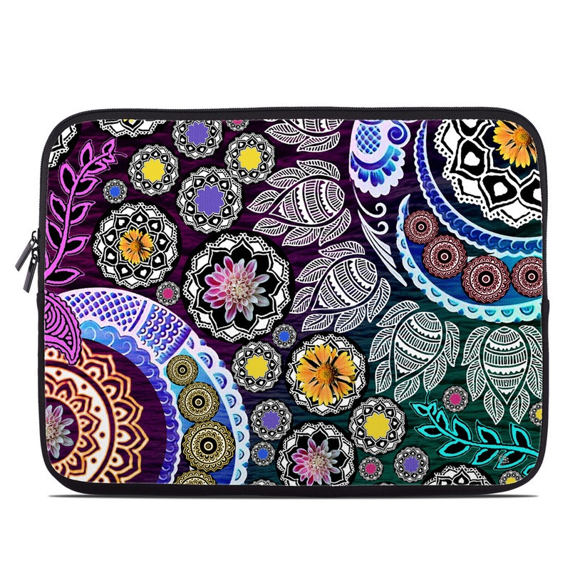 Mehndi Garden Laptop Sleeve