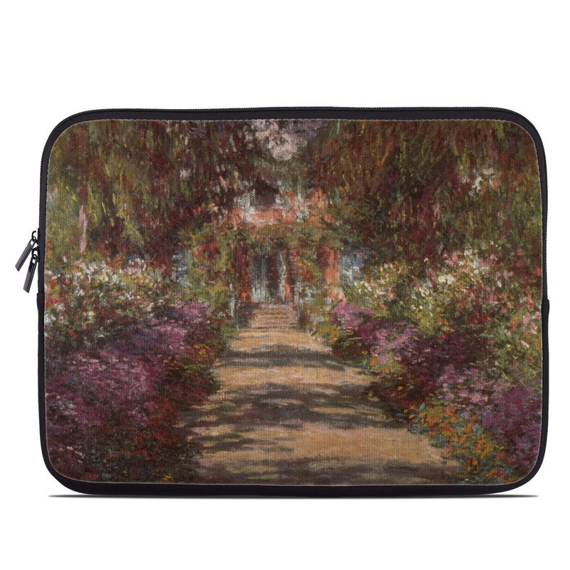 Garden at Giverny Laptop Sleeve