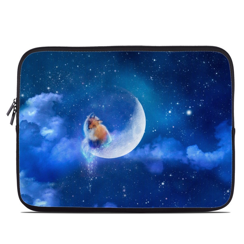 Moon Fox Laptop Sleeve